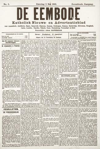 De Eembode 1903-05-02