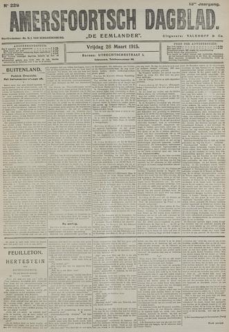 Amersfoortsch Dagblad / De Eemlander 1915-03-26