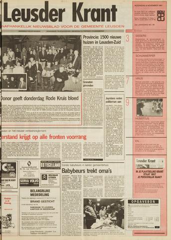 Leusder Krant 1991-11-06