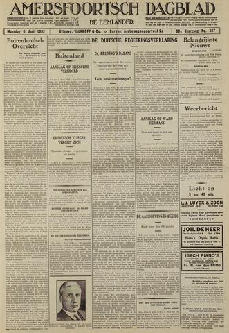 Amersfoortsch Dagblad / De Eemlander 1932-06-06