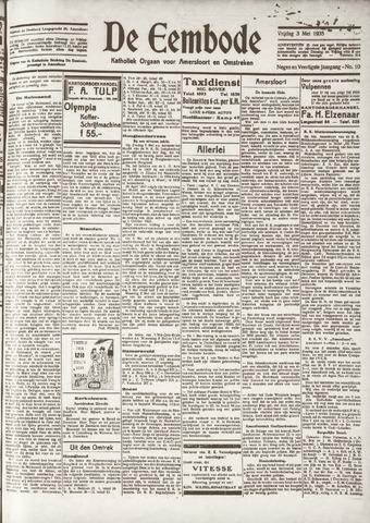 De Eembode 1935-05-03