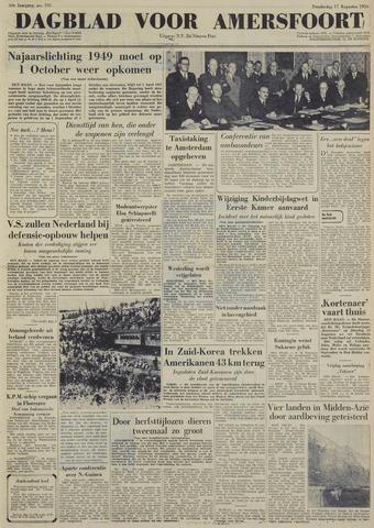 Dagblad voor Amersfoort 1950-08-17