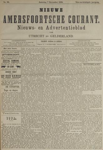 Nieuwe Amersfoortsche Courant 1895-12-07
