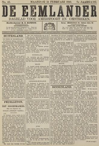 De Eemlander 1910-02-21