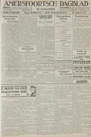 Amersfoortsch Dagblad / De Eemlander 1932-01-18