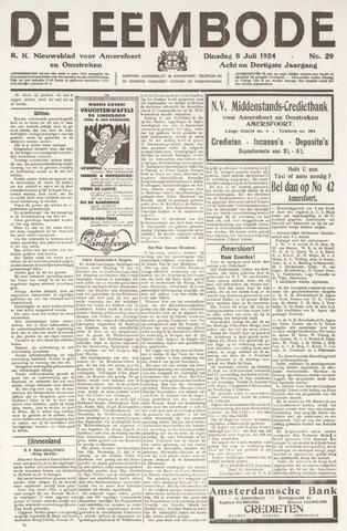 De Eembode 1924-07-08