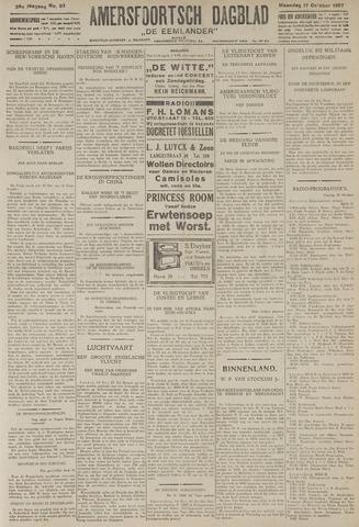 Amersfoortsch Dagblad / De Eemlander 1927-10-17
