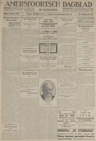 Amersfoortsch Dagblad / De Eemlander 1934-02-02