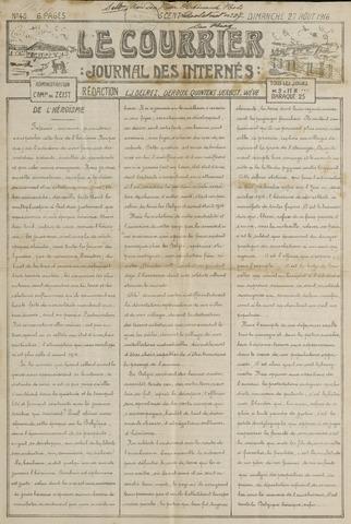Le Courrier 1916-08-27