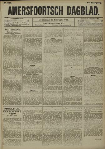 Amersfoortsch Dagblad 1908-02-20