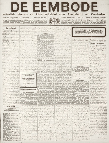 De Eembode 1915-07-30
