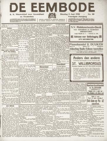 De Eembode 1926-06-08