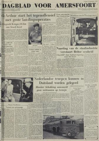 Dagblad voor Amersfoort 1950-09-15