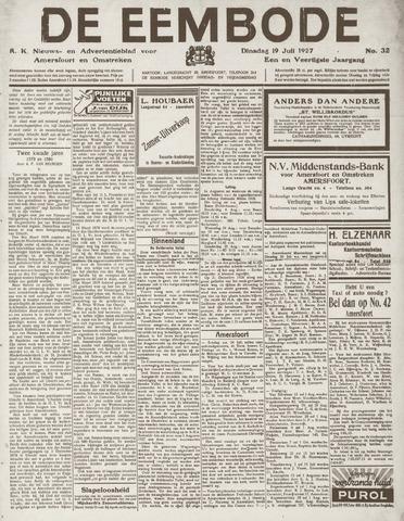 De Eembode 1927-07-19