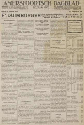 Amersfoortsch Dagblad / De Eemlander 1928-12-31