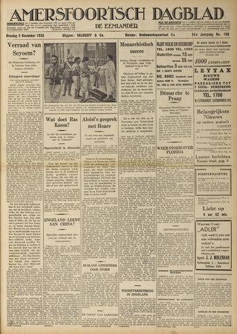Amersfoortsch Dagblad / De Eemlander 1935-11-05