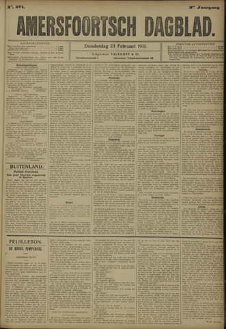 Amersfoortsch Dagblad 1911-02-23