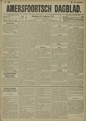 Amersfoortsch Dagblad 1910-08-22