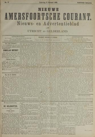 Nieuwe Amersfoortsche Courant 1889-02-09