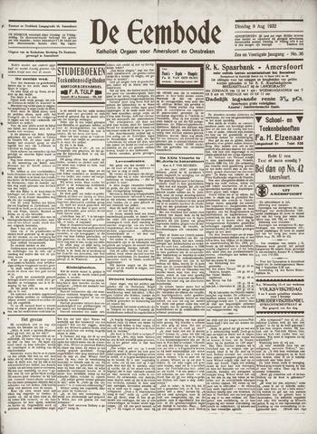 De Eembode 1932-08-09