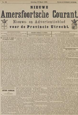 Nieuwe Amersfoortsche Courant 1898-03-19
