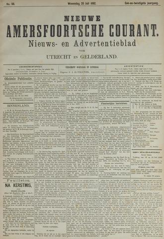 Nieuwe Amersfoortsche Courant 1892-07-20