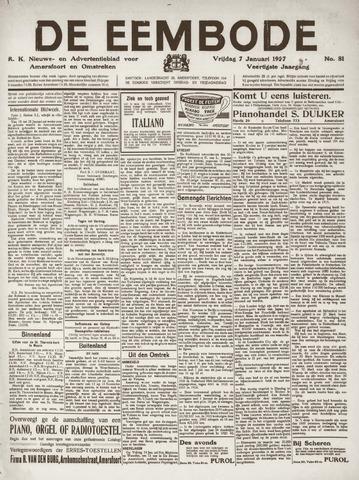 De Eembode 1927-01-07