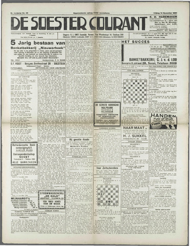 Soester Courant 1930-11-14