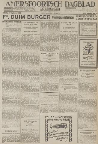 Amersfoortsch Dagblad / De Eemlander 1928-09-22