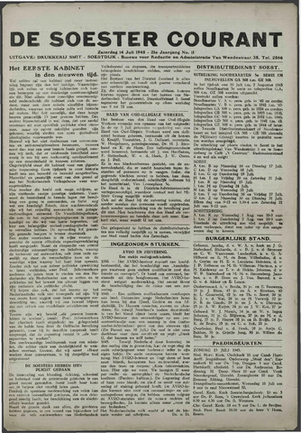 Soester Courant 1945-07-14