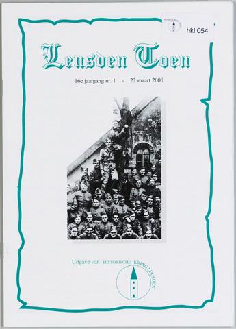 Historische Kring Leusden 2000