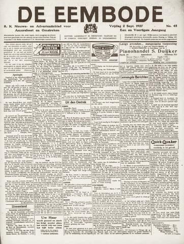 De Eembode 1927-09-02