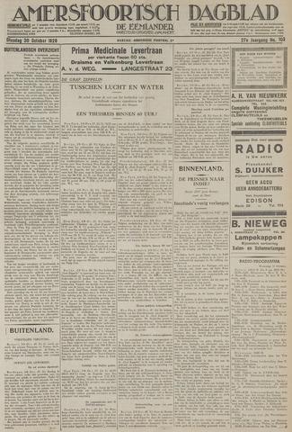 Amersfoortsch Dagblad / De Eemlander 1928-10-30