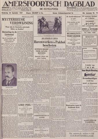 Amersfoortsch Dagblad / De Eemlander 1937-09-30