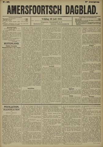 Amersfoortsch Dagblad 1910-07-29
