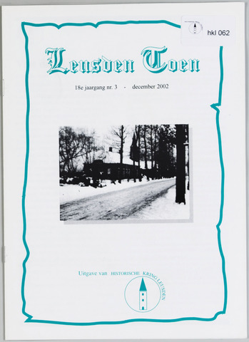 Historische Kring Leusden 2002-12-01