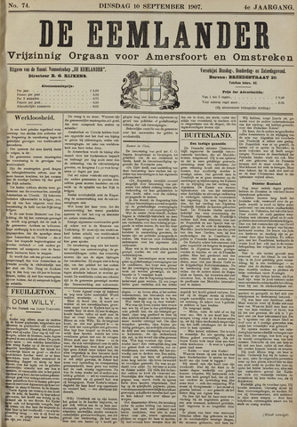 De Eemlander 1907-09-10