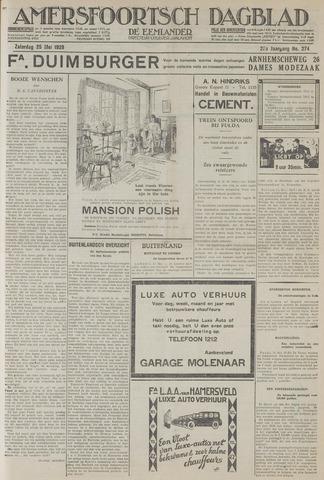 Amersfoortsch Dagblad / De Eemlander 1929-05-25