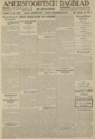Amersfoortsch Dagblad / De Eemlander 1932-06-20