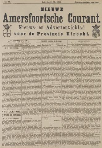 Nieuwe Amersfoortsche Courant 1910-05-21