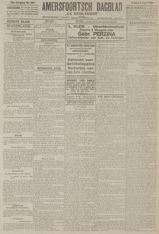 Amersfoortsch Dagblad / De Eemlander 1925-04-03