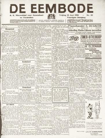 De Eembode 1926-06-18