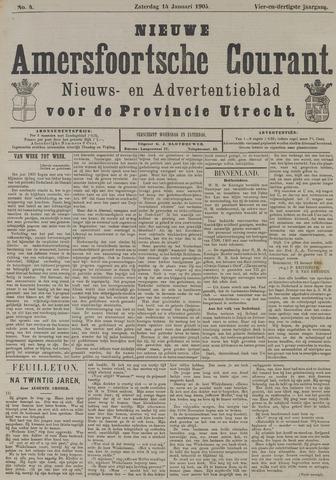 Nieuwe Amersfoortsche Courant 1905-01-14