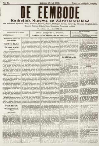 De Eembode 1908-07-25