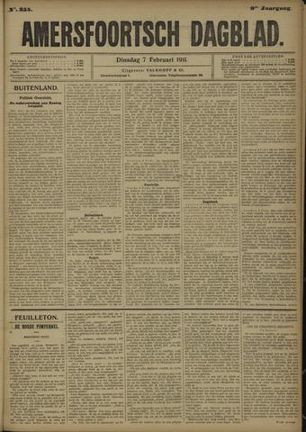 Amersfoortsch Dagblad 1911-02-07
