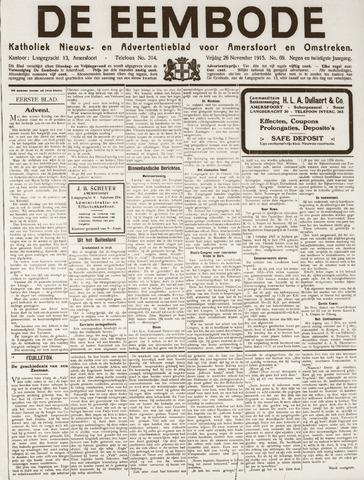 De Eembode 1915-11-26