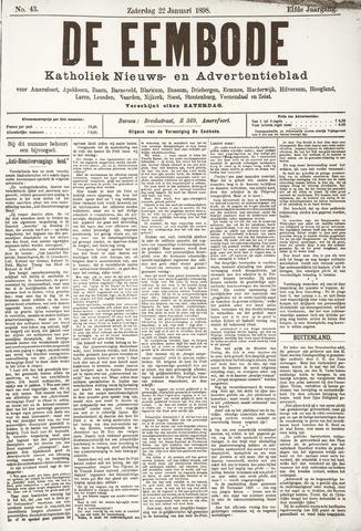 De Eembode 1898-01-22
