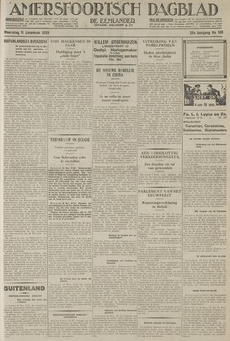 Amersfoortsch Dagblad / De Eemlander 1929-12-11