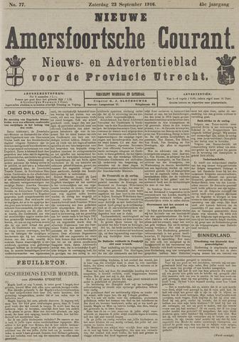 Nieuwe Amersfoortsche Courant 1916-09-23