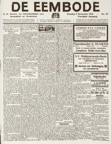 De Eembode 1926-11-09